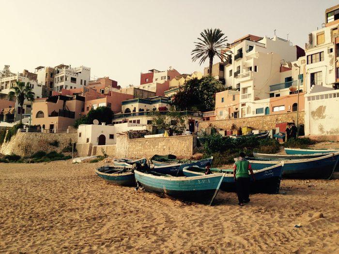 Marokko Morocco Fischerdorf Taghazout