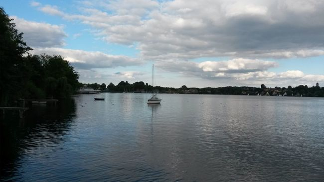 Friday evening in northern germany. Hoch die Hände - wochenende 🙌 Waterfront Tranquility Beauty In Nature Non-urban Scene Eye4photography  Open Edit What A Beautiful Day Places I've Been Today Plöner See