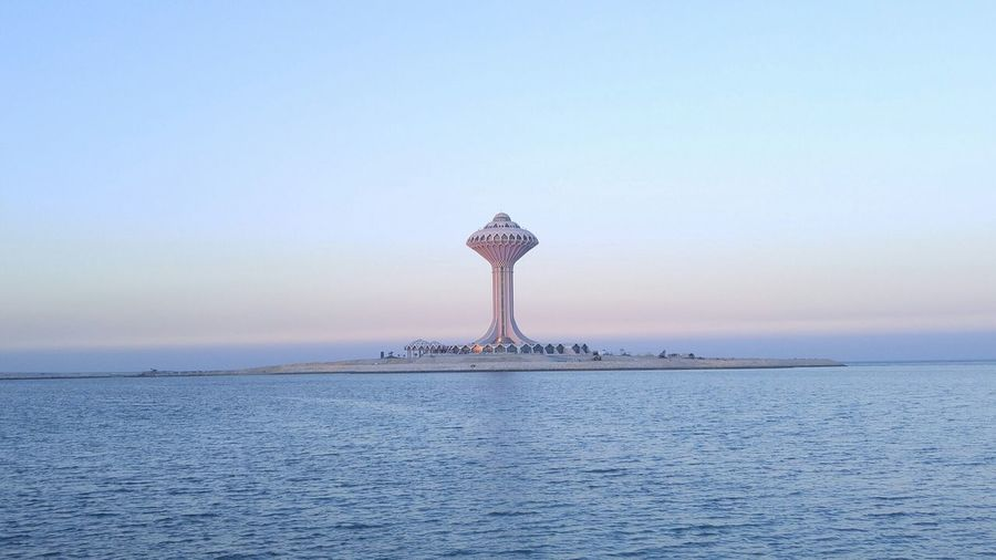 Alkhobar Hanging Out Sea And Sky Sunset