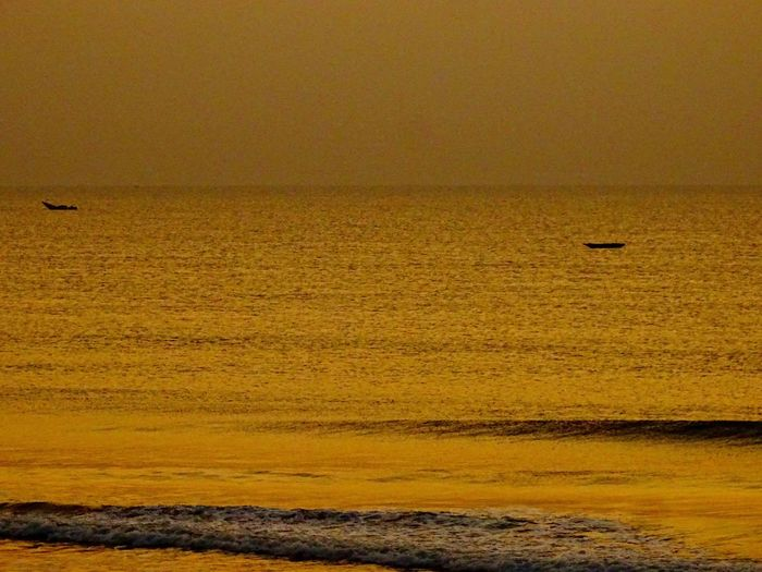 Beauty In Nature Nature Outdoors Scenics Sea Sunset Tranquil Scene Tranquility Water