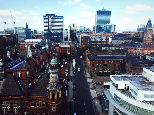 Day Urbancity Landscape Manchester Urbanisation BrickCity England Check This Out Cityscapes