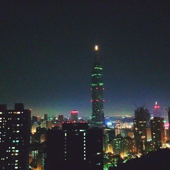 Showcase: February 象山步道 Night View Night View 象山 Taipei 101