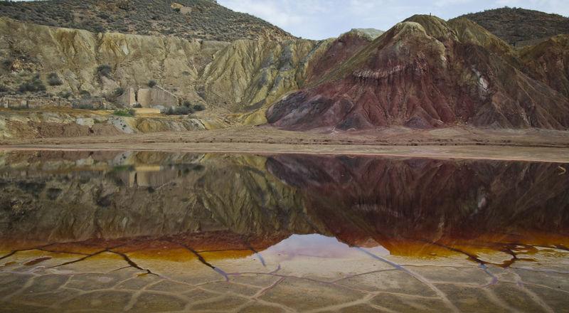 Geology Landscape Mazarron Minas Mountain Napatu Nature No People Outdoors Rock - Object Scenics Sulphur Water