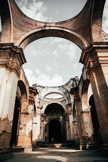 Ruinas Architecture Built Structure Arch History The Past Travel Destinations Low Angle View Building Exterior Nature Outdoors The Way Forward Building Sky Architectural Column Travel Ornate Day No People Tourism Ancient