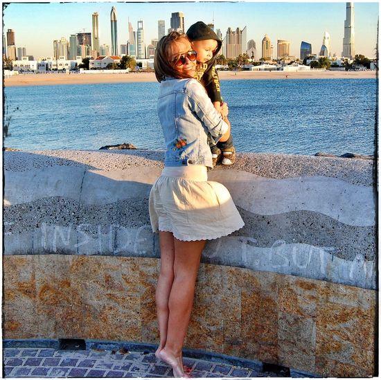 С моря и на море🙈😂✌️... дубаи Dubai VSCO Vscocam Snapseed сладкий пупс