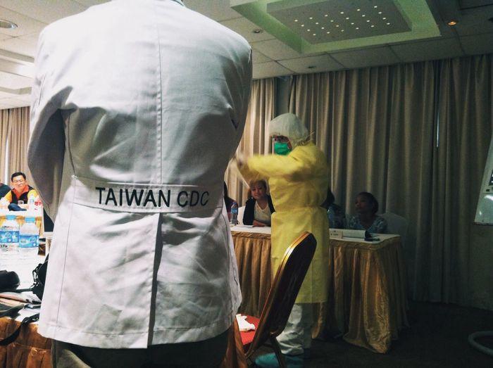 Ebola Medical Seminar Taiwan CDC Nigeria Lagos