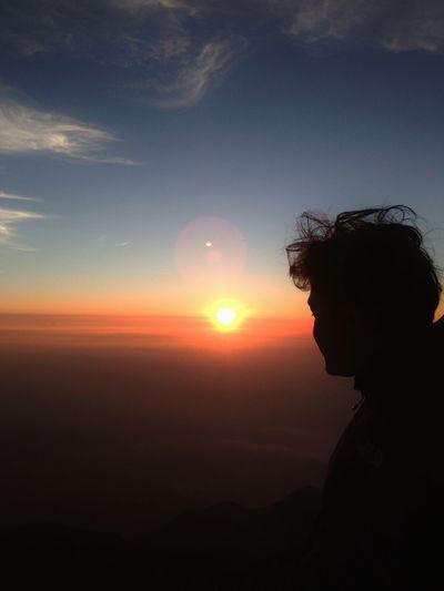 Sunrise 17 Agustus 2013 DirgahayuNKRI68