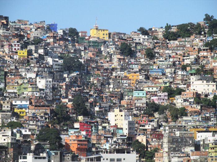 Rio de janeiro cityscape against sky