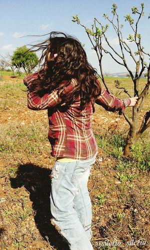 Lifestyles Lovleyday Loveley Weather Moments Of My Life @ 私の人生の瞬間。 Nature Sky Sunlight Human Hair Amazinggirl God Is Great. Ohmygosh
