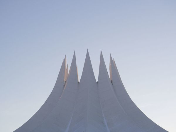 Tempodrom Archirecture Detail Architectural Feature Architecture Architecture_collection Architecturelovers Berlin Berliner Ansichten Building Exterior Built Structure Clear Sky Close-up Low Angle View Minimal Minimalism Minimalist Architecture Minimalobsession No People Pastel Pastel Power Rooftop Simplicity Urban Geometry Urban Photography The Architect - 2017 EyeEm Awards