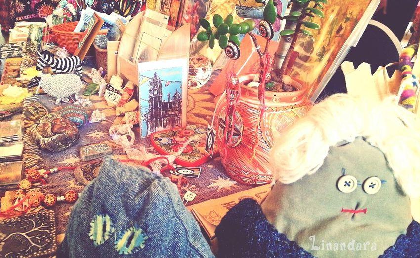 at Spirit of Gaia fair today! Art Crafts Handmade Folk Art
