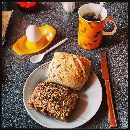 So erstmal frühstücken. 😊 Frühstücken Frühstück