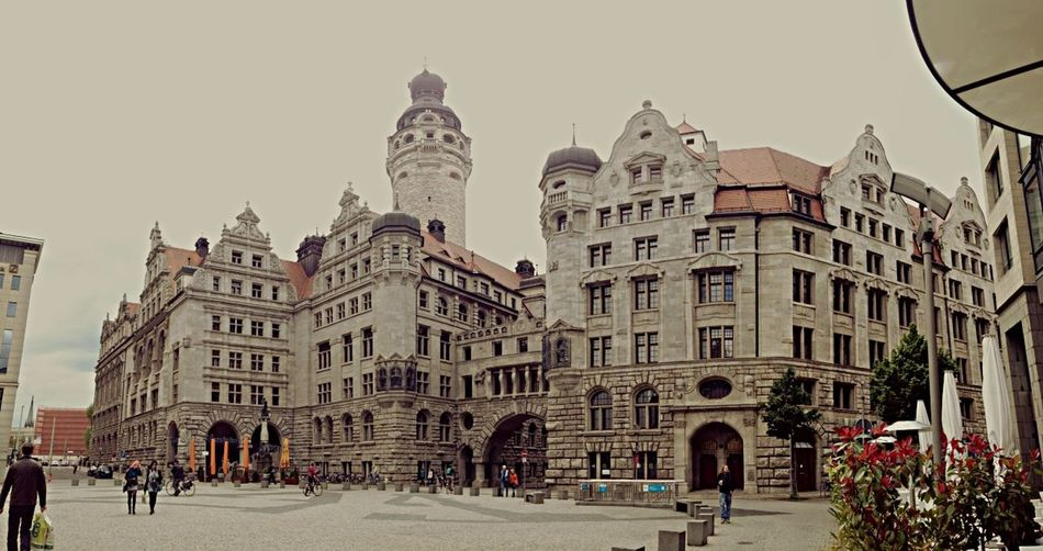 One year ago in Leipzig... The City Hall. Leipzig Architecture Germany