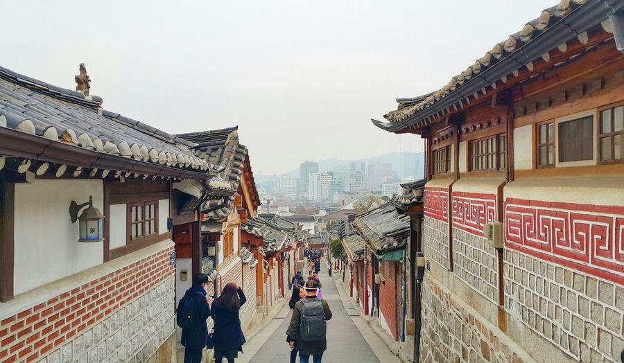 Hanok Village Traditional Korea Insadong Seoul