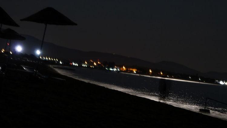 Night Illuminated No People Outdoors City Sky Izmir Photographer Salihleraltı Moonlight şezlong Nightlife Travel ıloveizmir Water Moonlight Moon Ayışığı Dikili Dikili ınstagram EyeEm Gallery Holiday