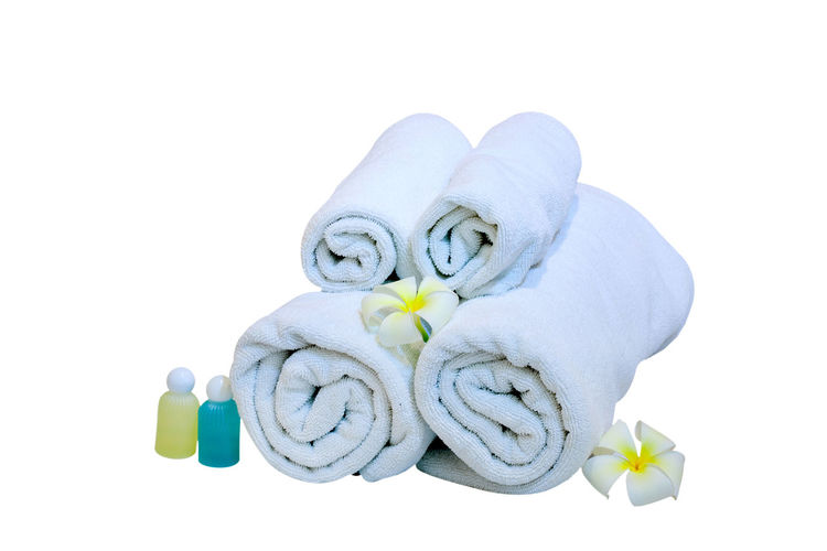 Animal Representation Blue Close-up Copy Space Cut Out Flower Flowering Plant Group Of Objects Indoors  Nature No People Relaxation Representation Slipper  Still Life Studio Shot Towel Toy White Background White Color