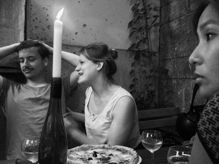 Dinner in Berlin, trying some German Food