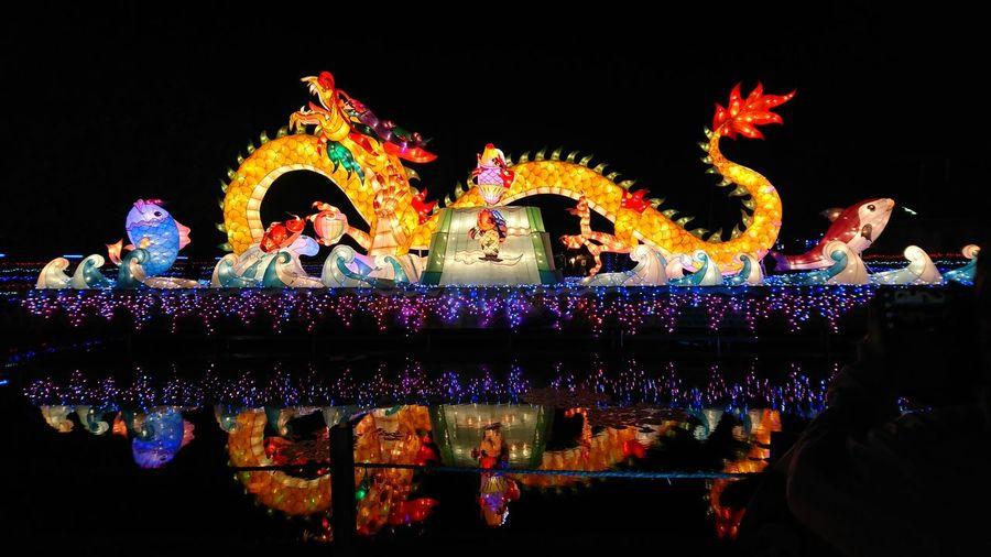 2017 Taiwan Lantern Festival Illuminated Culture Night