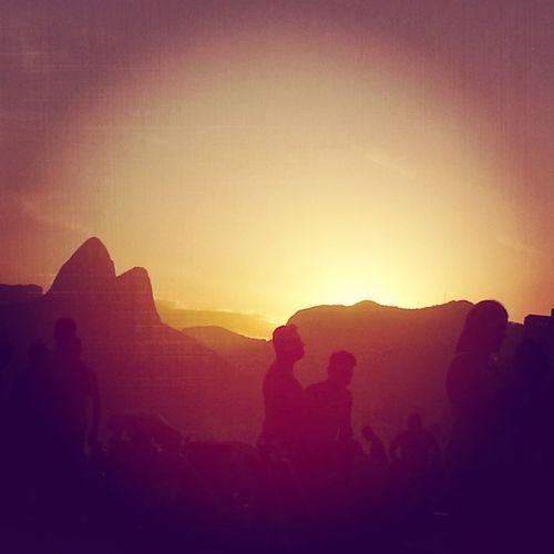 Pôr do sol...Vista perfeita! Sunset...perfect!