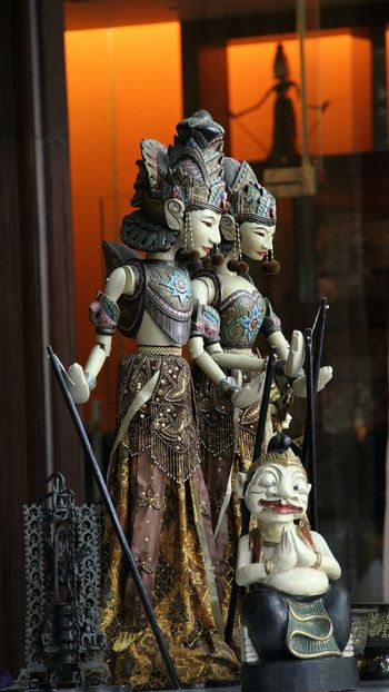 Wayang, one of the authentic Indonesian cultural herritage Wayang Art Solo Surakarta INDONESIA