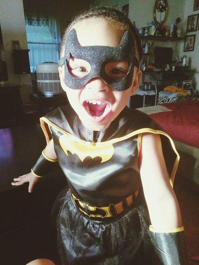My little Batgirl this Halloween 😍😘😂 EyeEmNewHere