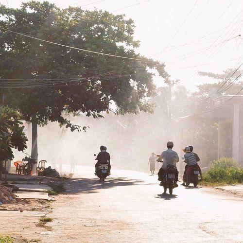 Hometown!! Hometown Memories Hometown Love Everning Sky EyeEm Vietnam Old Picture My Hometown Peaceful View