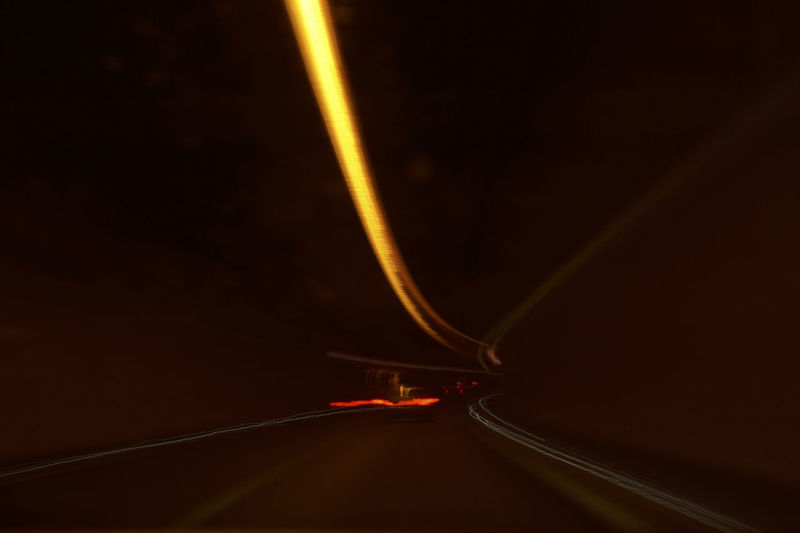 Motion Illuminated Road Light Trail Speed Transportation Long Exposure No People Night Mode Of Transportation Blurred Motion on the move Tail Light Car Headlight Motor Vehicle The Way Forward Direction Highway Red Dividing Line Capture Tomorrow