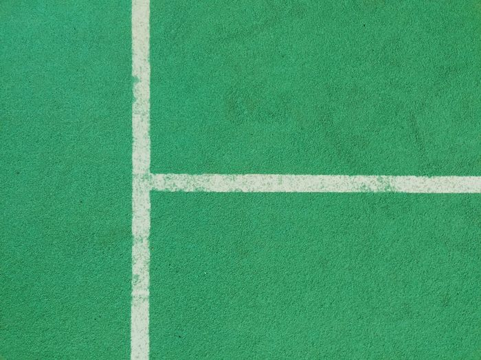 Close-Up Of Tennis Court