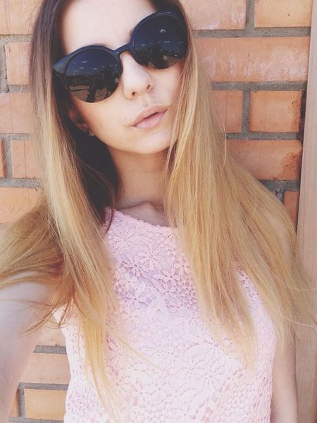Girl Russia Sunglasses Eye Followme Likeforlike девушка Россия весна
