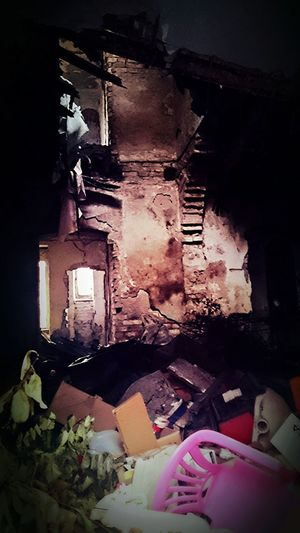 Light seeping though... (06th December 2015) Walls Doors Croatia City Life One Photo Every Day Light In The Darkness Cellphone Photography December 2015 Window Abandoned Places Deserted Abandoned Buildings Destruction Left Behind