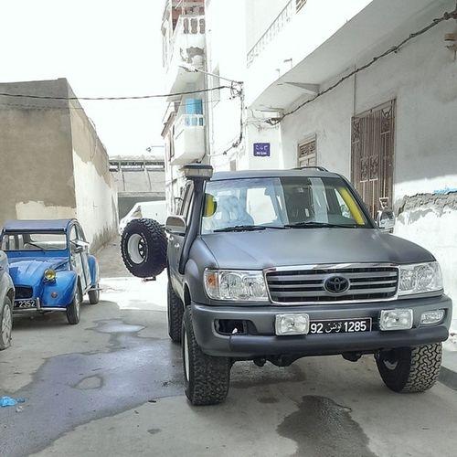 Toyota Hdj100 Citroen 2cv offroad allroad sousse tunisia