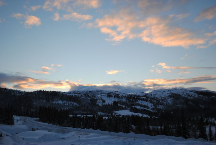 Norway Beauty In Nature Cloud - Sky Cold Temperature Landscape Nature Snow Winter EyeEmNewHere