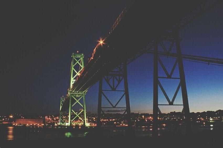 Good night halifax Landscape_Collection Halifax Bridge Halifax Hrm