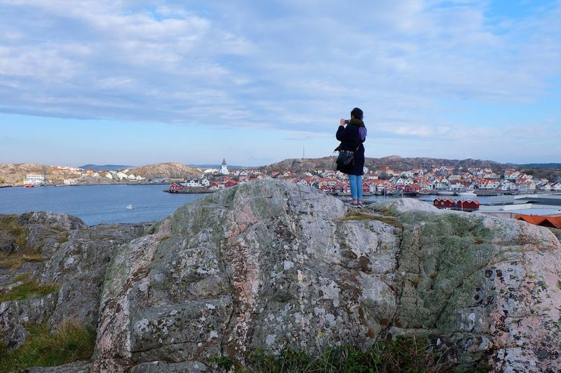 The Tourist Skärhamn Sweden Landscape People Fujifilm_xseries Fujifilm X-a2 Fujifilm Town