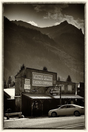 Red Lodge, Montana United States Montana Black And White Black & White Blackandwhite Sepia