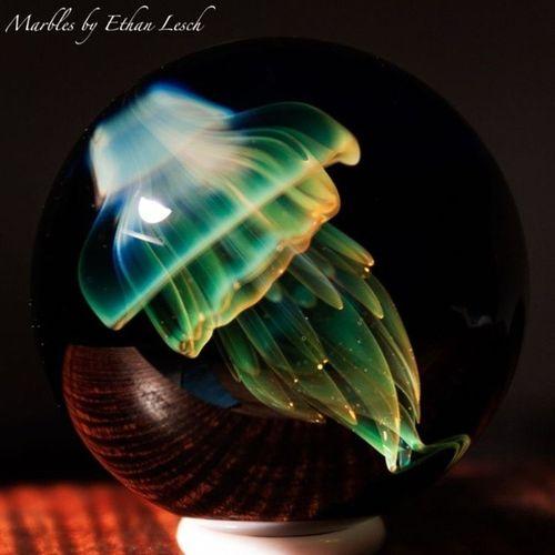 Jellyfish fun!!! Jellyfish Jellyfishmarble Jellyfishglass Headyart headyglass marblemadness marble boro boroart glass glassblowing gttforlife ventura 805 ethanlesch