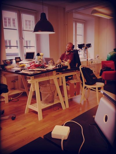 Working at Feber HQ Working