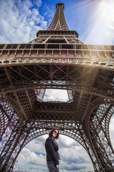 Architecture Built Structure City Travel Destinations History Tourism Tower My Year My View Eyeemphotography Paris EyeEm Best Shots Vacations City My Year In View Cultures Travel Sky Cloud And Sky Cloud_collection  Architecture Eyfel Tourist Cloud - Sky