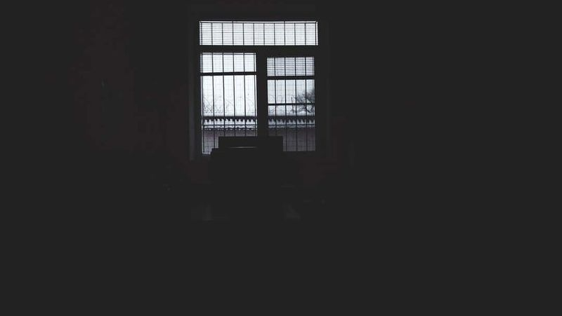 Indoors  Dark Window Architecture Built Structure Day Prison No People