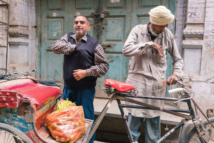 Transaction completed India Punjab Street Streetphotography