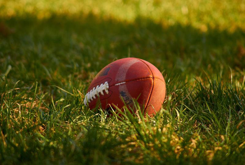 American Football - Sport Sport American Football Field Close-up Grass Outdoors Bokeh Photography Sony A58 Ball Summer Sports Photography Sports Football NFL Football NFL