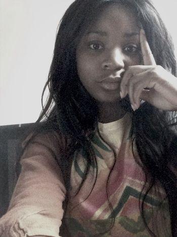 Pensive Bored Just Chillin'