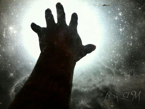 Art Mi Cielo Stars Silhouettes Skin Of The Night Photography Clouds And Sky Stardust Dreaming Monochrome