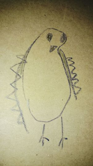 Olivia's Artwork Penguin