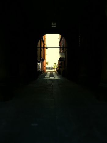 Architecture Built Structure The Way Forward Arch Day Narrow Archway Tunnel No People Light At The End Of The Tunnel Light At The End Of Tunnel Town People And Places Travel Destinations Architecture Sky Brescia, Italy Iseo Iseolake