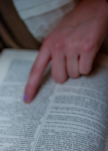 Book Human Finger Human Hand Learning Page Paper Pointing Pointing Fingers Reading Reading A Book