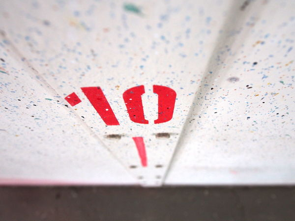 Perspective Capital Letter Close-up Communication Concrete Wall Day Emotion Guidance Heart Shape Indoors  Love Message No People Number Number 10 Numeration Positive Emotion Red Road Sign Selective Focus Sign Ten Text Vehicle Interior Western Script