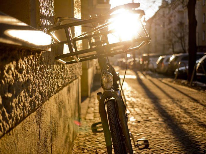 Drahtesel inna Sonne Fahrrad Sun Light Bicycle
