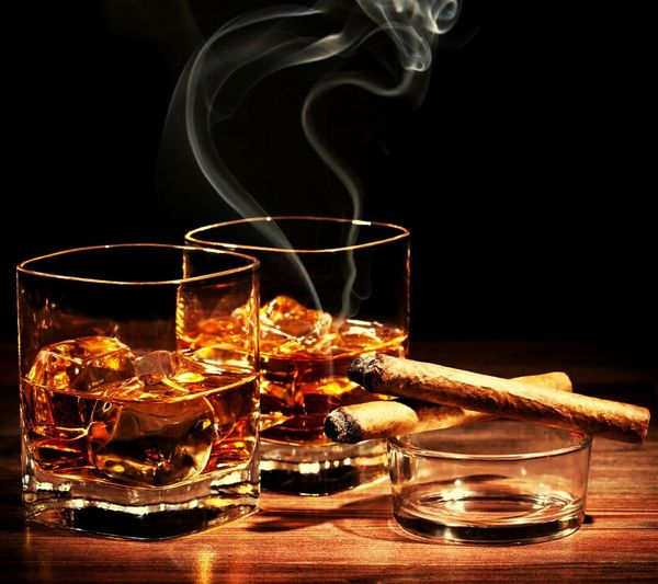 Alcohol Dring Smoke