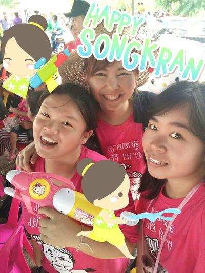 SongkranThailand SongkranFeatival2015 Happy Songkran Day 😃😃😃😎😎😎